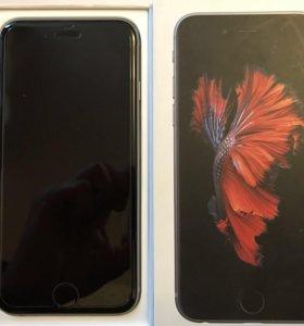 Айфон 6s, серый!