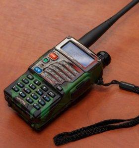 Две Радиостанции baofeng uv5 re 2 шт