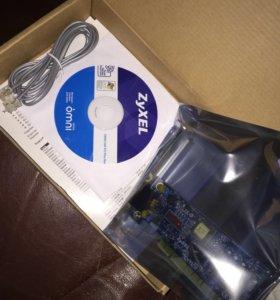 Модем ZyXEL OMNI 56K PCI Plus Rev.3
