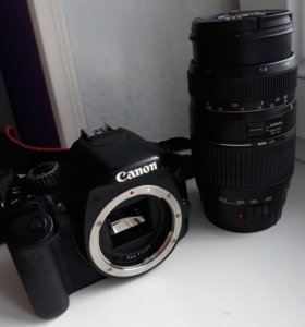 Фотоаппарат и объектив