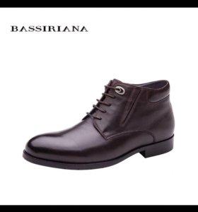Новые зимние ботинки мужские !!