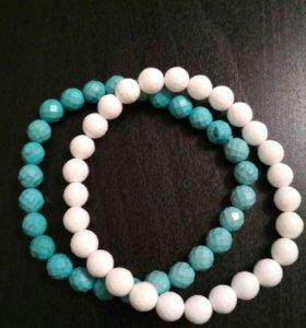 Женские браслеты из натурального камня