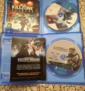 PS4 диски