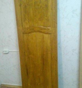 Деревянная дверь( массив)