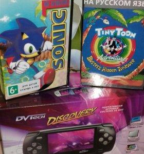 Игровая консоль Discovery +2 игры