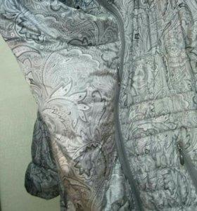 Куртка для беременных со вставкой для малыша.