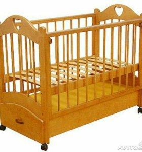 """Кровать детская Можга С 635 """" Любаша"""""""