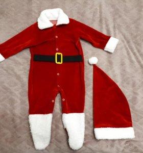 Новогодний костюм на 6-7мес (74)