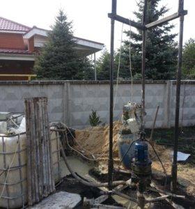 Бурение и обслуживание водозаборных скважин.