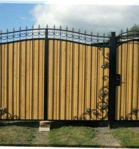 Кованые ворота арт.81