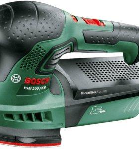 Вибрационная шлифовальная машина Bosch PSM 200 AES
