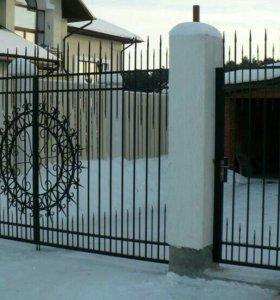 Кованые ворота арт.74