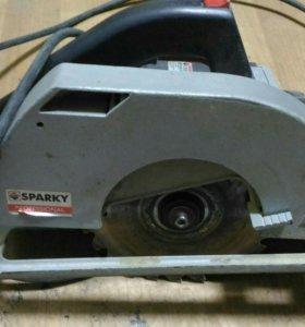 Циркулярная пила sparky TK70 1400 В