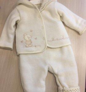 Утепленный костюм для девочки или мальчика