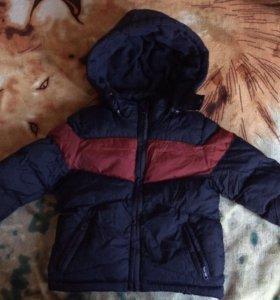 Куртка зимняя на мальчика р69-74