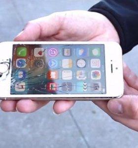 Замена стекла без дисплея IPhone SE