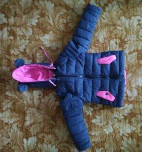 Куртка осень - весна. Возраст от 2, 5до 4 лет.