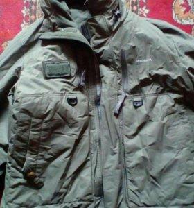 Мужская зимняя куртка для рыбылки