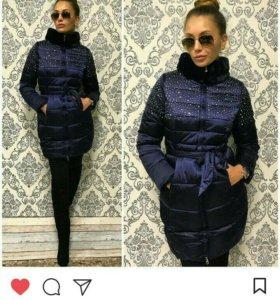 Зимнию куртку