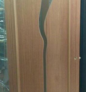 Дверь со стенда Ручей шпон натуральный