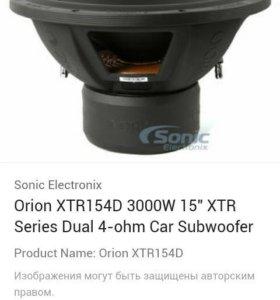 Orion xtr15d4 3000w