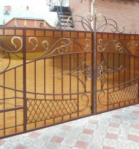 Кованые ворота арт.68