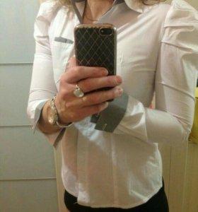 Блузка белая, новая. Размер 42-44.