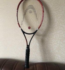 Ракетка для большого тенниса, с чехлом (рюкзаком)