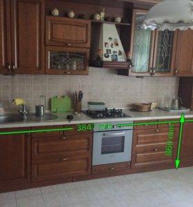 Продам деревянную кухню
