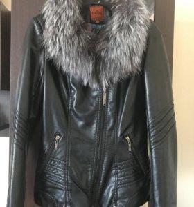 Куртка осень-зима размер 42-44
