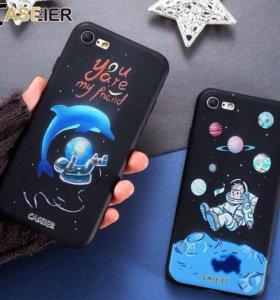 Чехол с дельфином на айфон 5