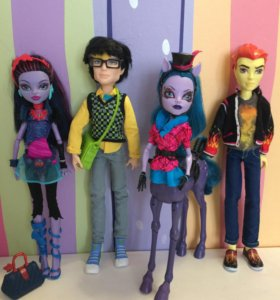 Куклы Monster High Монстр Хай