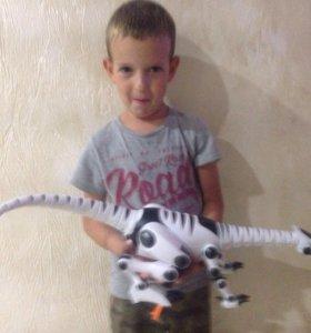 🦀 Робот Динозавр