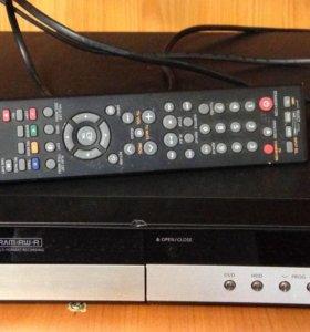 Пишущий ДВД Samsung DVD-HR750 DVD/HDD рекордер