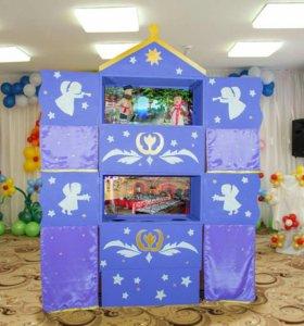 Кукольный театр - сказочный домик