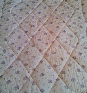 Ватное новое одеяло 1,5 и 2сп