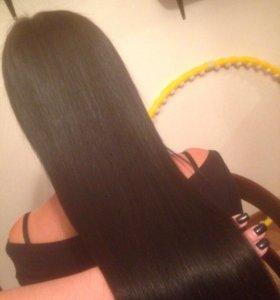 🔹Кератиновое выпрямление волос ))) 🔹Полировка