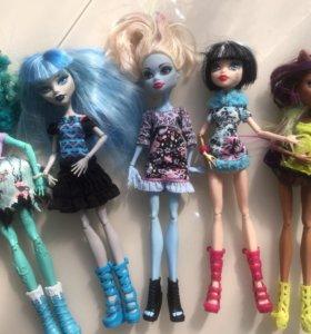 Куклы монстры хай