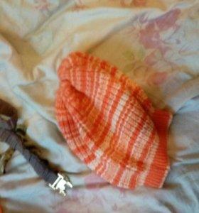 Шапка, шарфы , перчатки