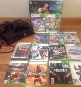 Xbox 360 250 гб + Skylanders
