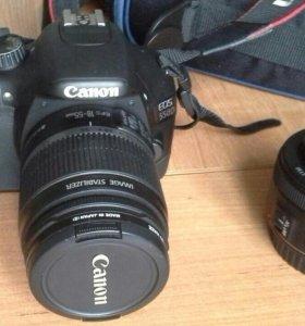 Canon EOS 550D Kit + объектив 50 мм f/1.8 STM