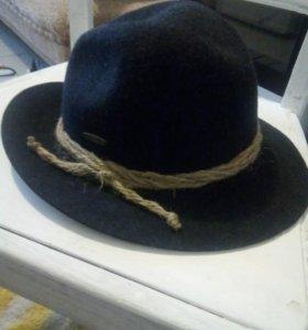 Шляпа 56см шерсть