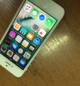 Айфон 5 16гб белый :)
