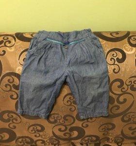Брючки ,,Гулливер,,джинсовые.размер 80-48 б/у