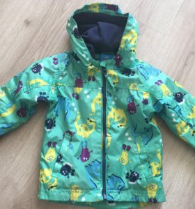 Ветровка-куртка на флисе