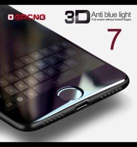 3D стекло на айфон 6