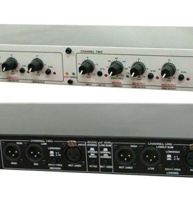 Продаю усилитель (кроссовер) DBX 223 XS