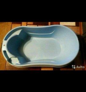 Ванночка для купания+термометр