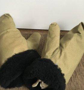 Рабочие рукавицы. Новые