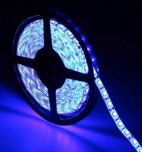 Разноцветная светодиодная лента RGB 5050 - 5м